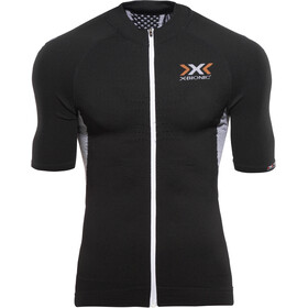 X-Bionic The Trick Maillot manches courtes Homme, black/white